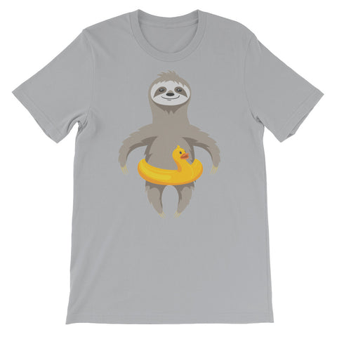 Image of Slothcation Unisex short sleeve t-shirt - CalvinMade