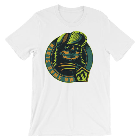 Image of Swag Sloth Unisex short sleeve t-shirt - CalvinMade
