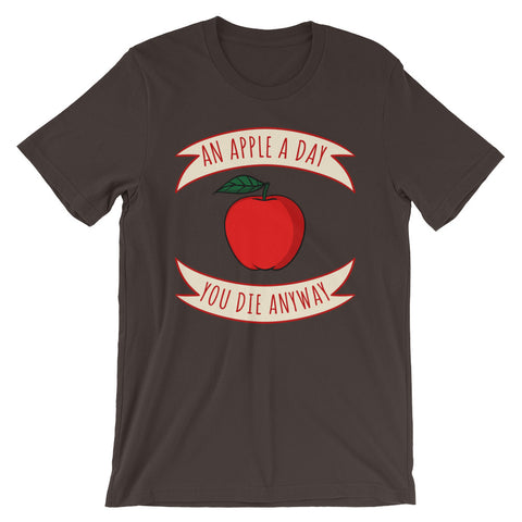 Image of An Apple a Day Short-Sleeve Unisex T-Shirt - CalvinMade