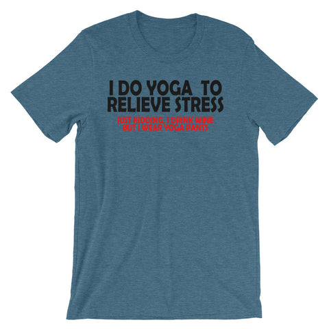 Image of Relieve Stress Unisex short sleeve t-shirt - CalvinMade