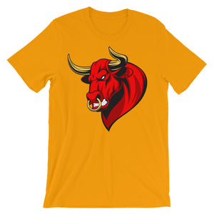 Bullish Unisex short sleeve t-shirt - CalvinMade