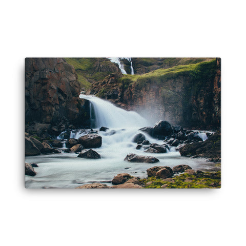 Image of Water Fall Canvas - CalvinMade