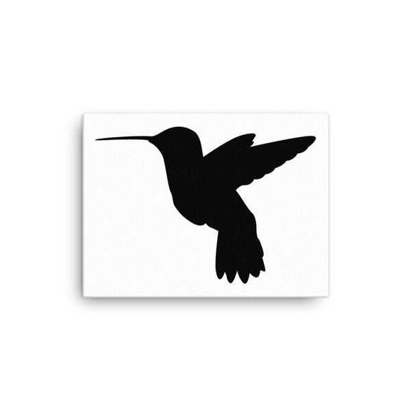 Humming Bird Silhouette Canvas - CalvinMade