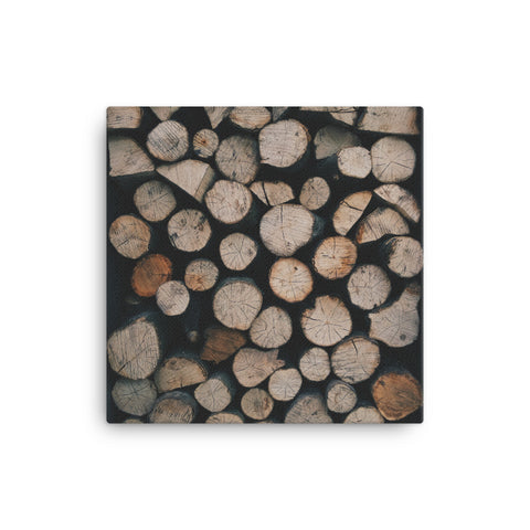 Image of Woodpile Canvas - CalvinMade