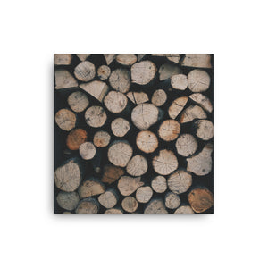 Woodpile Canvas - CalvinMade
