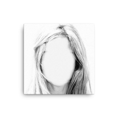 Image of Face in the Mirror Canvas