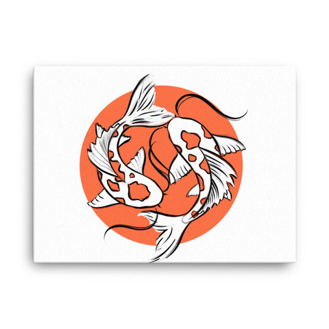 Image of Koi Canvas