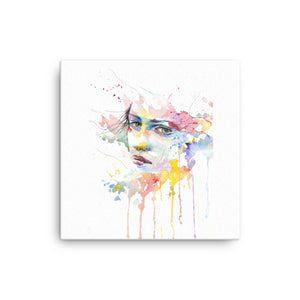 Colorful Girl Canvas