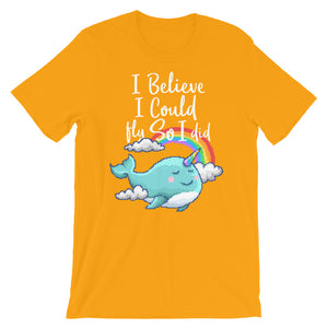 Retro I believe I could so I did Short-Sleeve Unisex T-Shirt