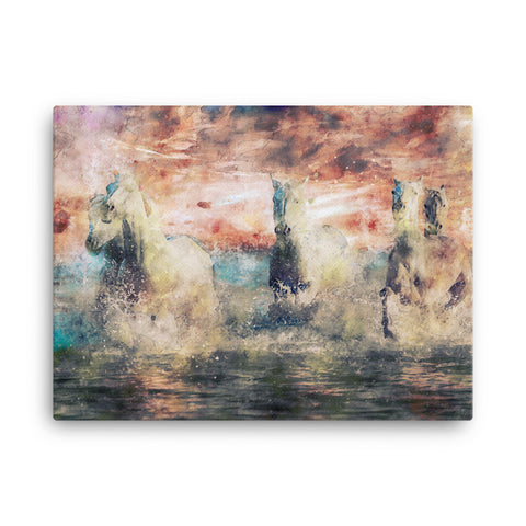 Image of Wild Horses Canvas
