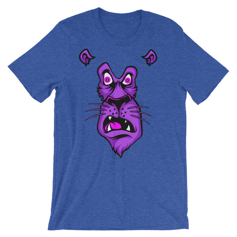Image of Shocked Lion Unisex short sleeve t-shirt - CalvinMade