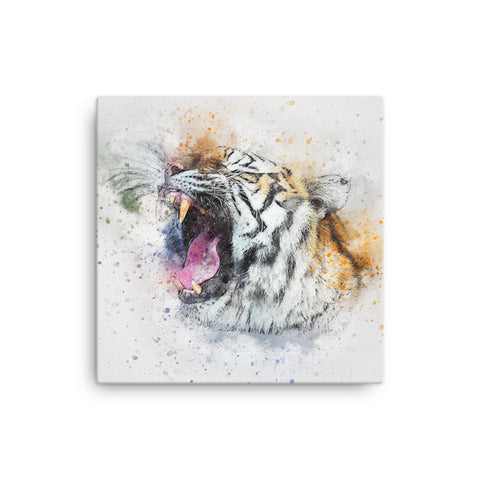 Image of Tiger Roar Canvas