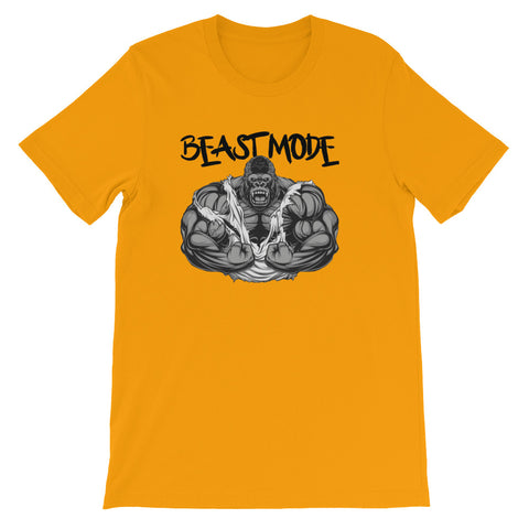 Image of Beast Mode Unisex short sleeve t-shirt - CalvinMade