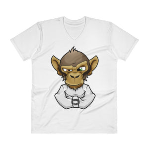 Mad Monkey V-Neck T-Shirt - CalvinMade
