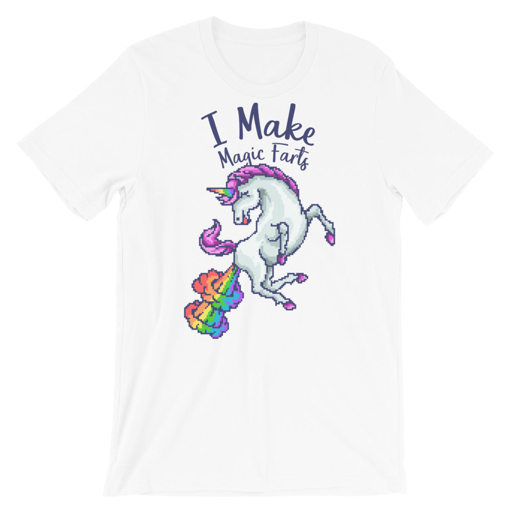 Retro I make magic farts Short-Sleeve Unisex T-Shirt