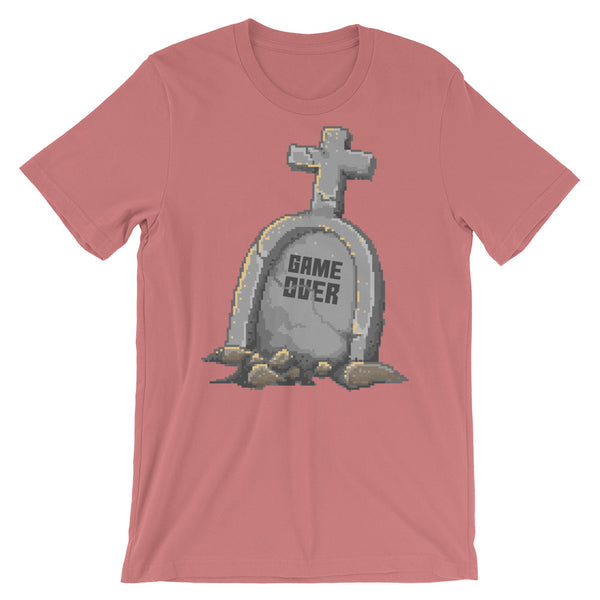 Retro Game Over Short-Sleeve Unisex T-Shirt