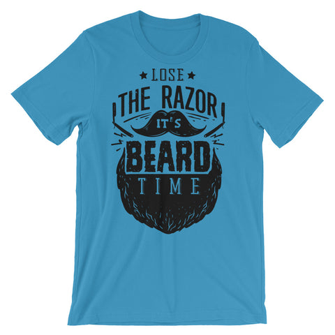 Image of Beard Time Unisex short sleeve t-shirt - CalvinMade