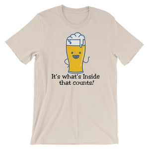 What's inside Unisex short sleeve t-shirt - CalvinMade