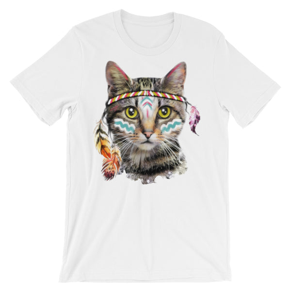 Look at me Meow Unisex short sleeve t-shirt