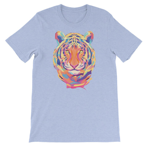 Image of Eclectic Tiger Unisex short sleeve t-shirt - CalvinMade