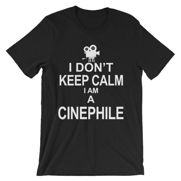 Cinephile Unisex short sleeve t-shirt