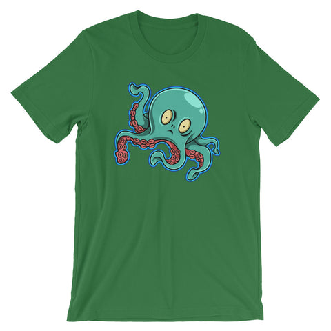 Image of Octopus Unisex short sleeve t-shirt - CalvinMade