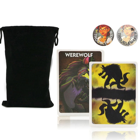 Board Game One Night Ultimate Werewolf, Daybreak, vampire, Alien,  super villains,