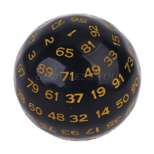 100 Sides Polyhedral Dice D100 Multi Sided Dice