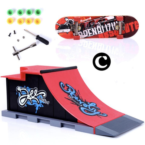 Finger Skating Board Skate Park