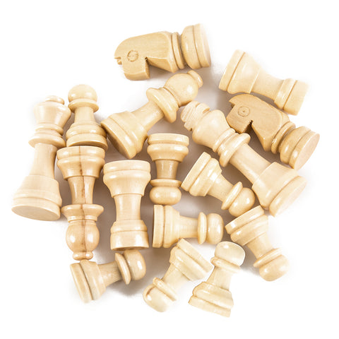 Image of 3 IN 1 Wooden Chess Set