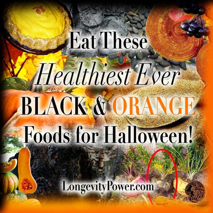 Eat These Black & Orange Foods for Halloween & the Holidays!
