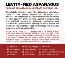 LEVITY Red Asparagus Root Extract