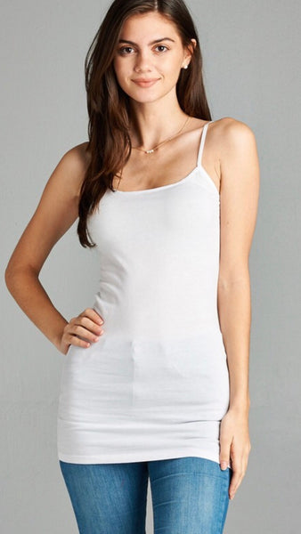 Basic White Camisole