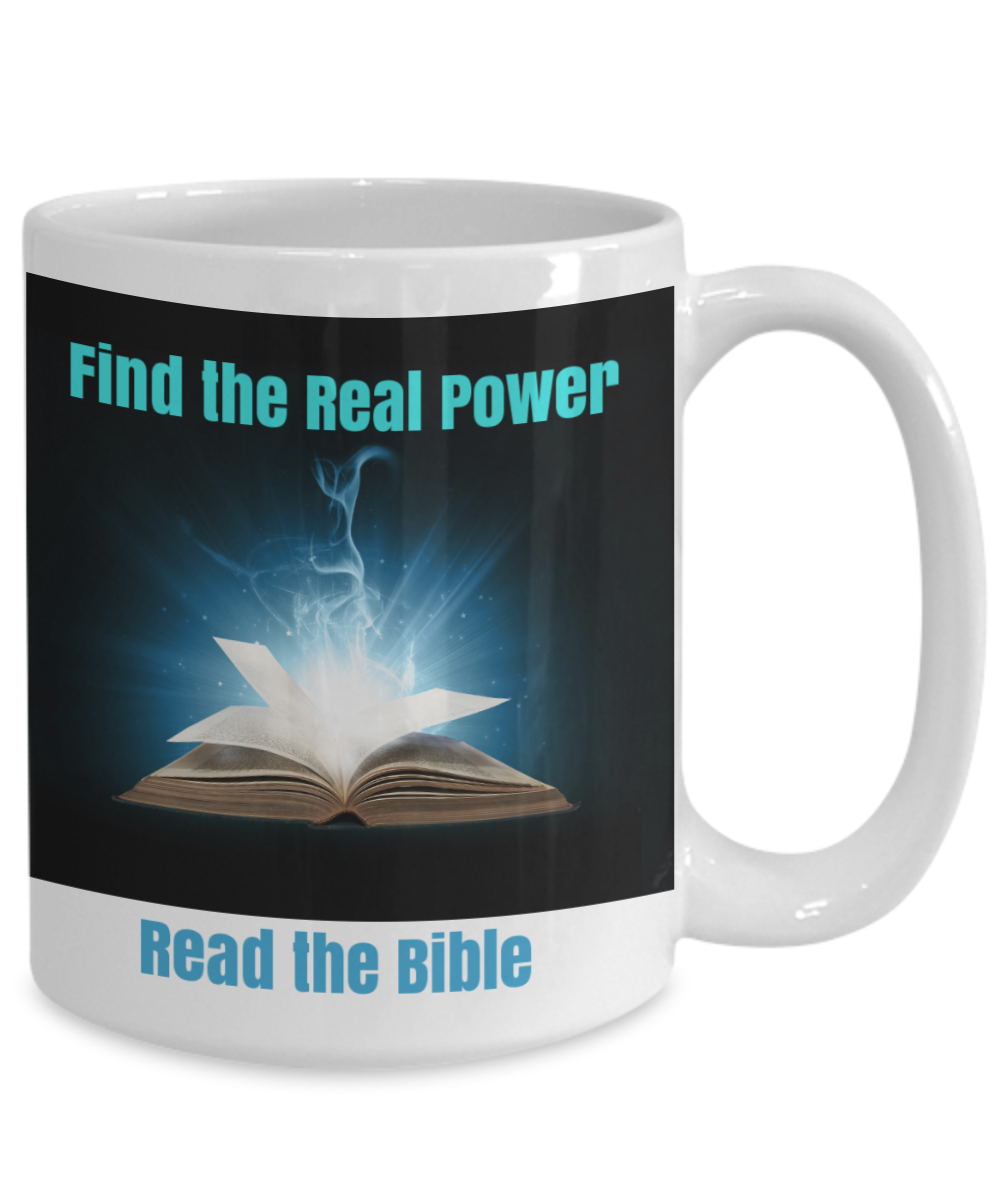 Find the Real Power - Read the Bible