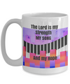 NEW-The Lord is My Strength-Song and Hope