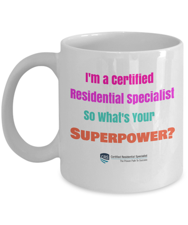 New CRS-What's Your Superpower - 11 oz size