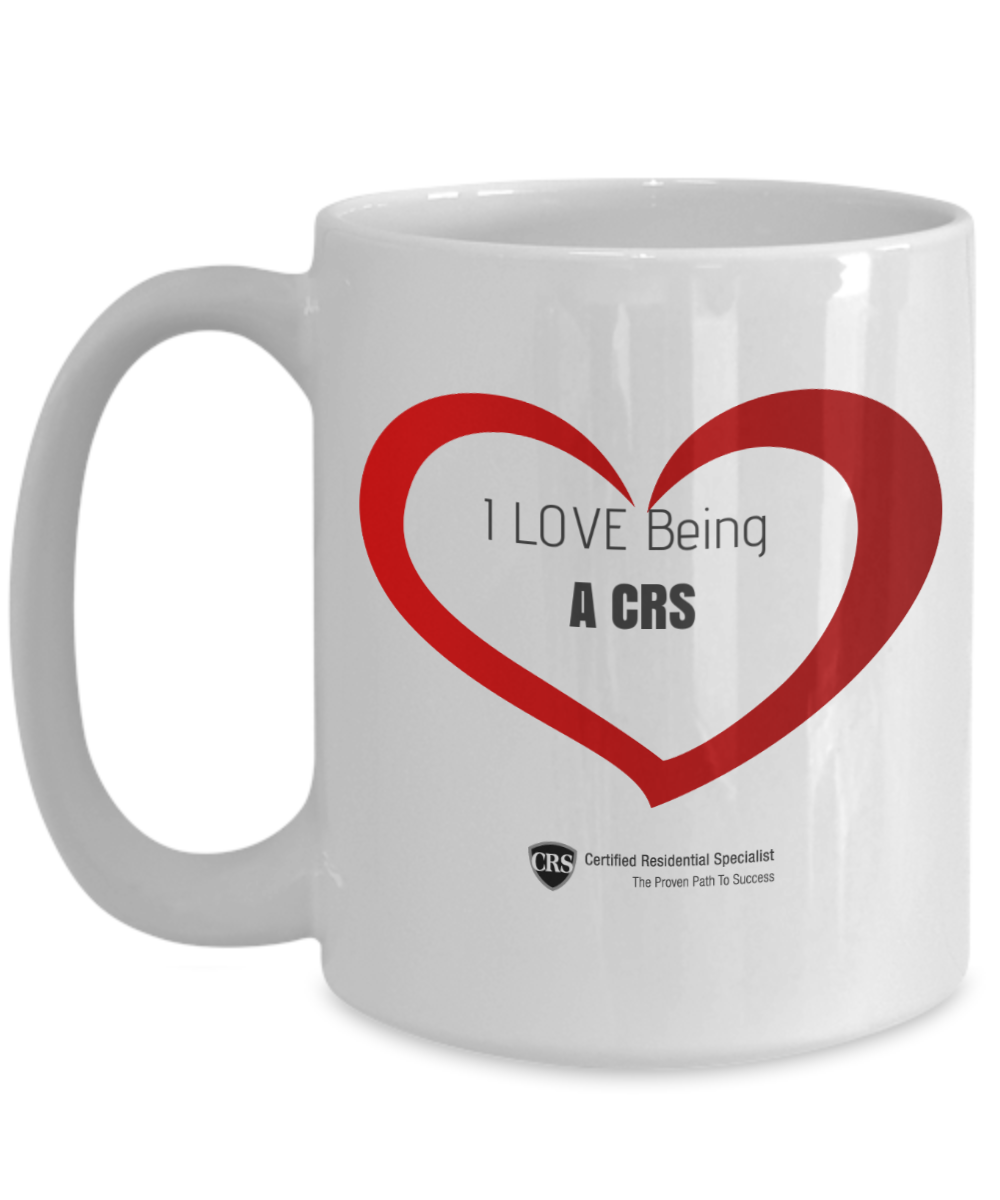 I Love Being a CRS - heart-full logo