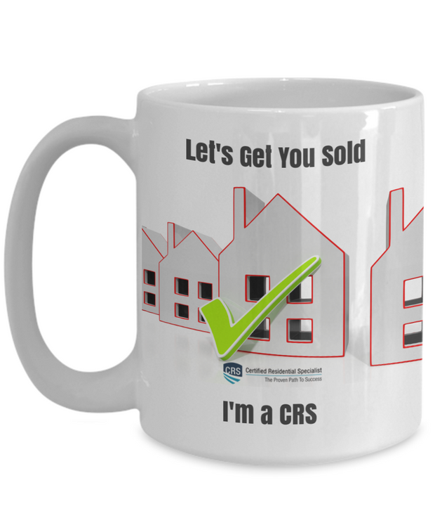 New CRS-Let's Get You Sold-I'm a CRS-15 oz mug