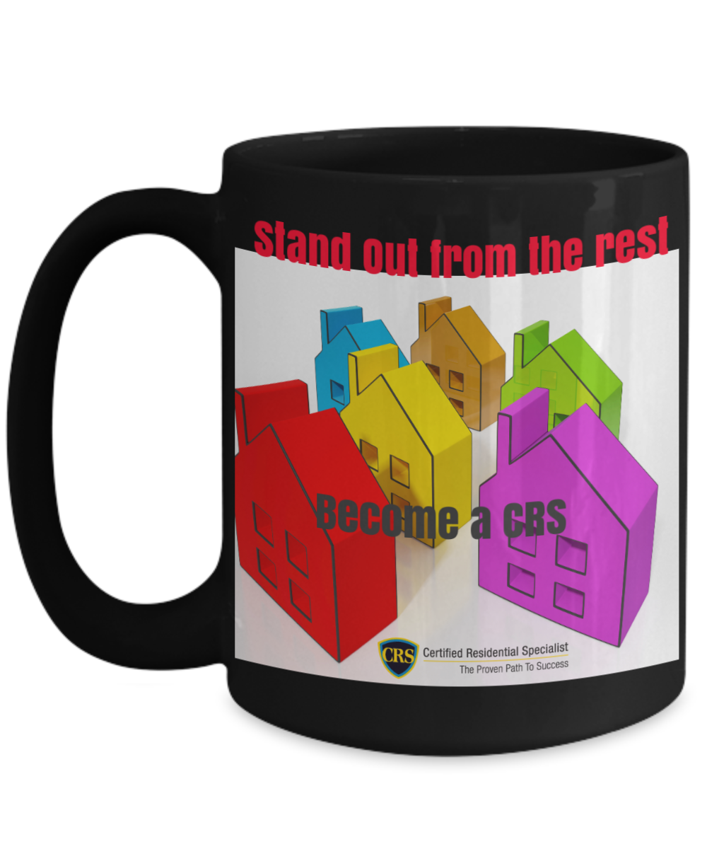 Stand Out from the Rest - Become a CRS- Multi Color houses-full logo