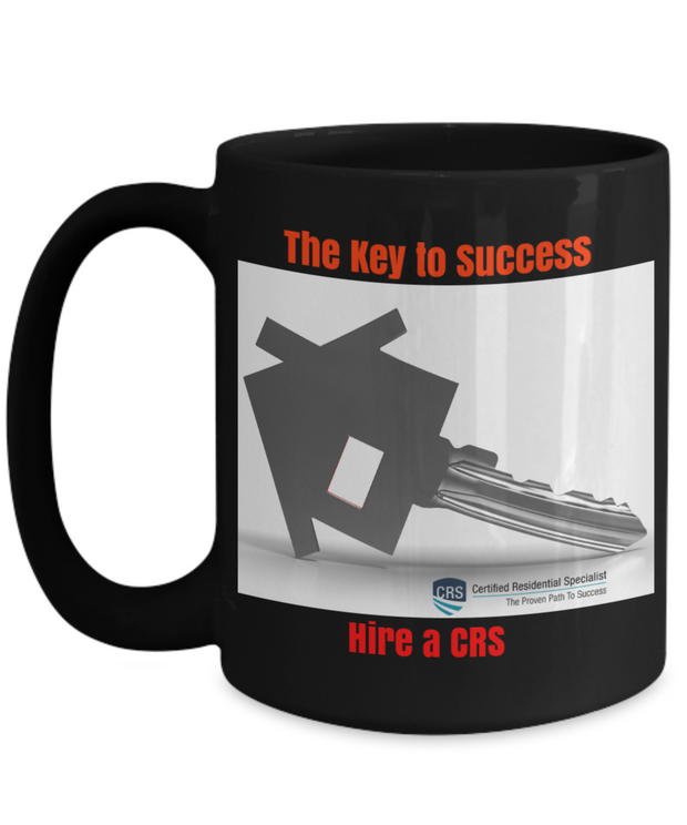 New CRS-The Key Success - Hire a CRS - 15 oz