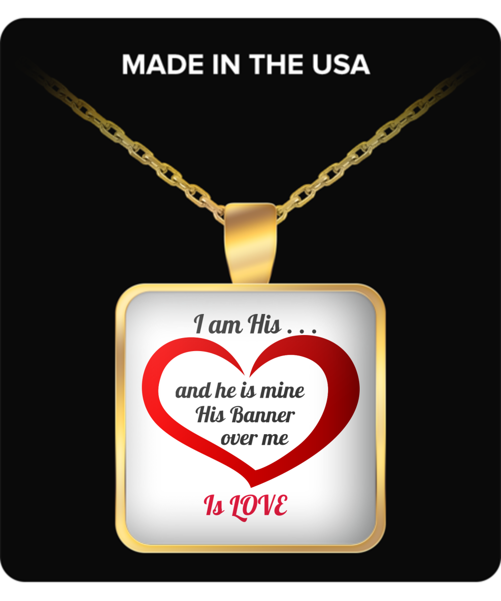 Song of Solomon 2:4 - NECKLACE - GOLD