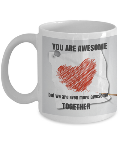 YOU ARE AWESOME . . .