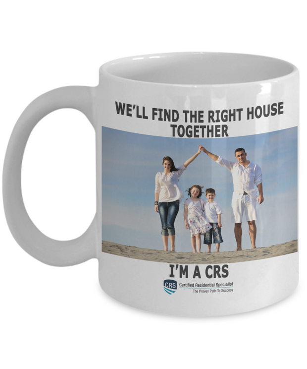 NEW CRS-11 oz-We'll Find The Right House Together!
