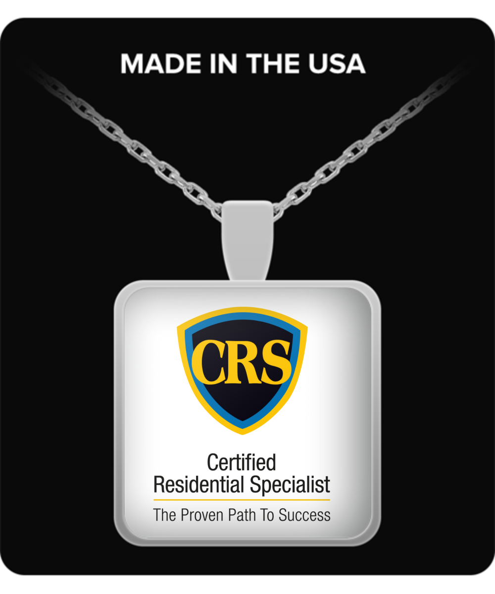 CRS - Silver Pendant - Black - yellow -Blue