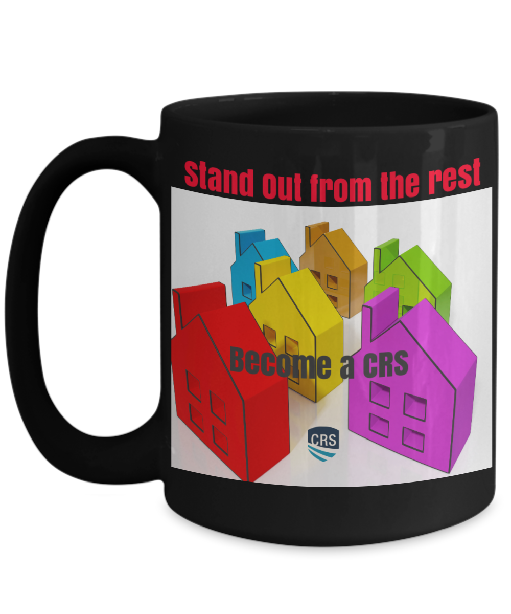 NEW CRS-Stand Out From the Rest-Become a CRS-Black mug 15 oz