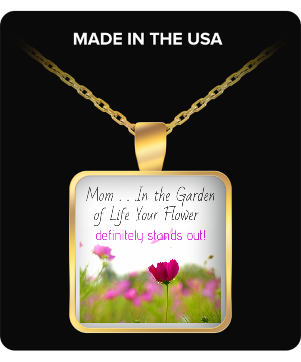 Mom - In the Garden of Life-gold-necklace
