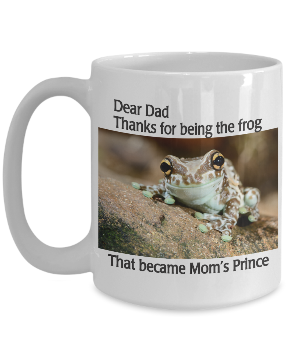 DEAR DAD - THANKS FOR BECOMING THE FROG-2ND EDITION