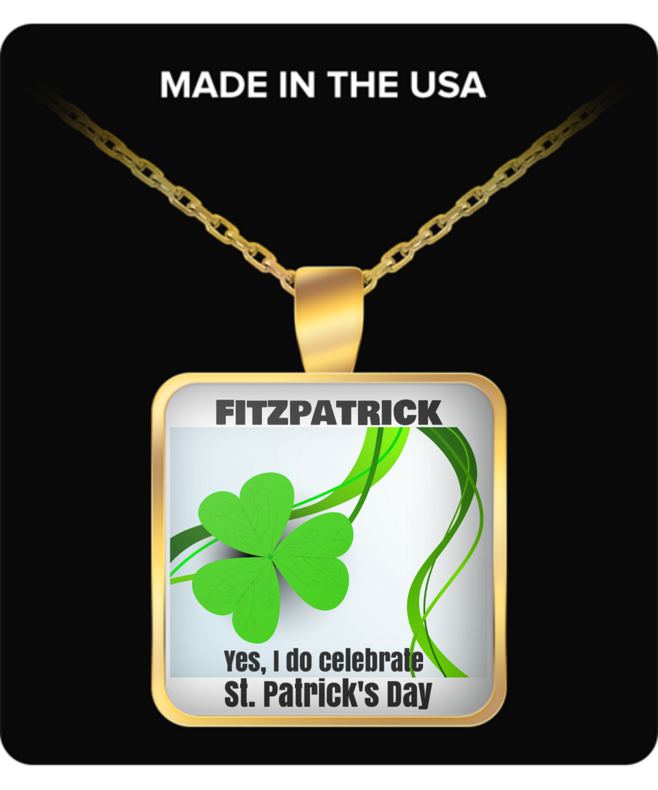 FitzPatrick-G-Yes I do celebrate St. Patrick's Day-gold necklace