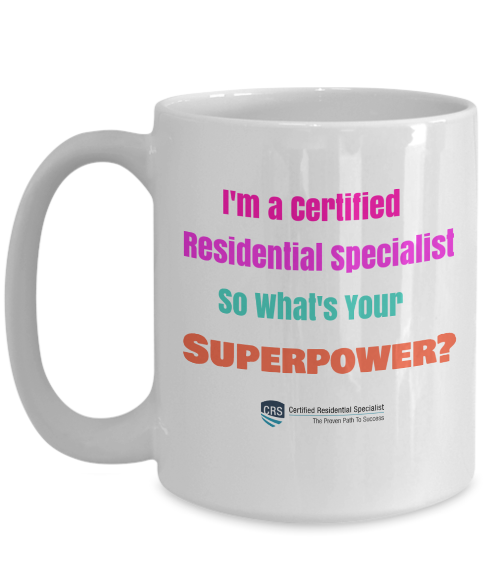 NEW CRS LOGO - What's Your Superpower? - 15 oz