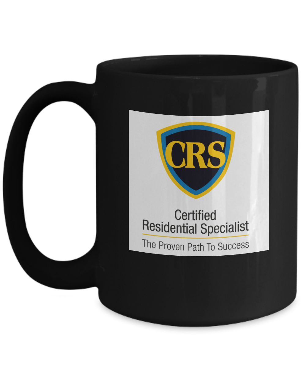 CRS - Standard Logo - Color - black 15 oz